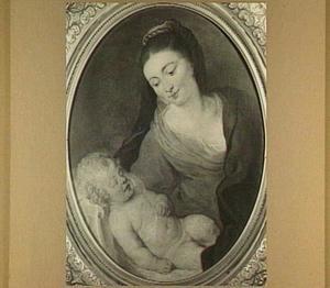 Maria met slapend Christus-kind