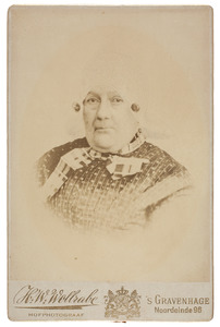 Portret van Maria Pronk (1793-1870)