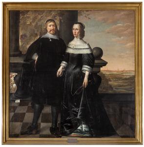 Burgemeester dr. Heinrich Alers en zijn vrouw
