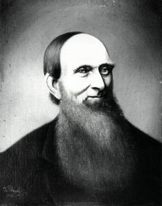 Portret van Dirk Weeshoff (1825-1887)