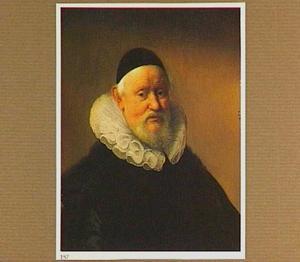 Portret van een man met een kalotje