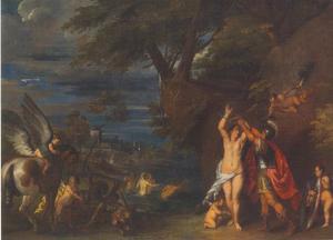 Andromeda door Perseus bevrijd