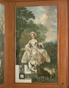 Portret van een vrouw, mogelijk Johanna Maria Chalon (1741-1774)