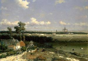 Gezicht op Haarlem
