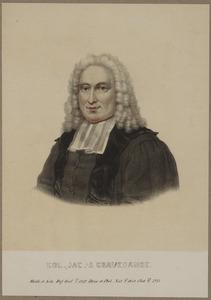 Portret van Willem Jacob 's Gravesande (1688-1742)