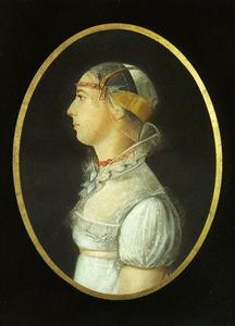 Portret van Grietje Jacobsdr. Breet (1799-1867)