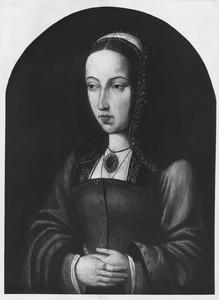 Portret van een vrouw, waarschijnlijk Johanna van Aragon
