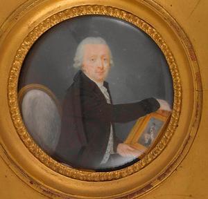 Portret van de Bazelse kunstverzamelaar Nicolas Reber-Passavant (1735-1815)