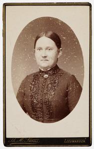 Portret van Johanna Elisa Augusta Huber (1853-1934)