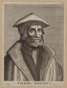 Portret van Petrus Nannius (1500-1557)