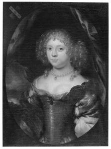 Portret van een vrouw, waarschijnlijk Stilte
