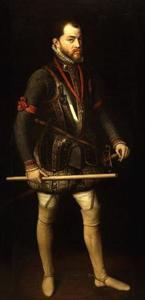 Portrtet van Philips II van Habsburg (1527-1598)