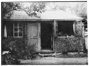 Atelier van Mies van Rees in Blaricum, achter Noolseweg 57
