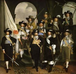 Het vendel van kapitein Claes Willemsz. Jager