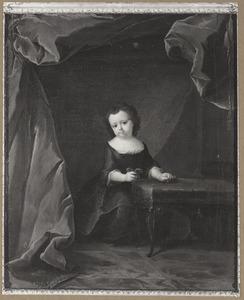 Portret van een meisje, waarschijnlijk Agnes Emilie van Pallandt (1732-1805)