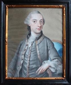 Portret van Petrus van der Straten (1735-1804)