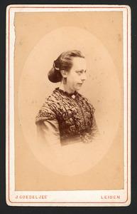 Portret van Paulina Jacoba Maria Gevers (1833-1908)