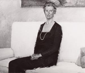 Portret van Johanna Laurentia Hanneman (1914- )