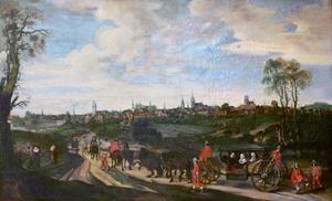 Intocht van Adriaen Pauw en Anna van Ruytenburgh in Münster, 1646