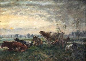 Koeien bij de moerassen in Essex