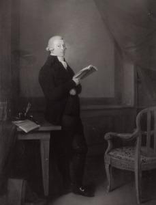 Portret van een man, waarschijnlijk Pieter van Beest (1748-1828)  of mogelijk Paulus Holle (1756-1827)