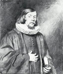 Portret van Johann Steudner (1620-1666), predikant te Augsburg