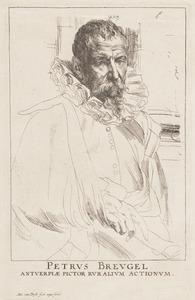 Portret van Pieter Brueghel (1564-1638)