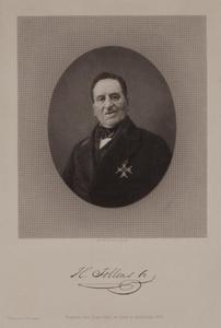 Portret van Hendrik Tollens (1780-1856)