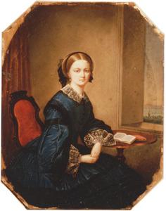 Portret van Ida Catharina van der Oudermeulen (1834-1857)