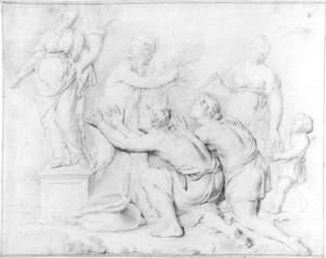Offerande aan Ceres (allegorie van de Zomer)