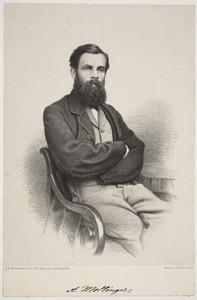 Portret van  Alexander Mollinger (1836-1867)