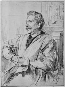 Portret van Ferdinand Karel Adolf Constantijn Leenhoff (1841-1914)