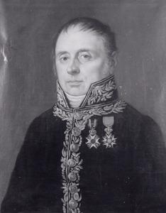 Portret van Adrianus Francois Goudriaan (1768-1829)
