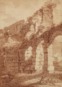 Het aquaduct van Nero, Rome