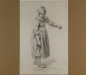 Staande vrouw, naar rechts