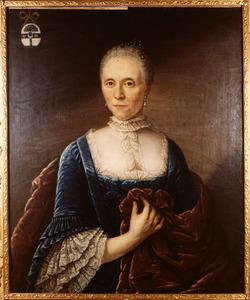 Portret van Alida Schortes (1705-1770)