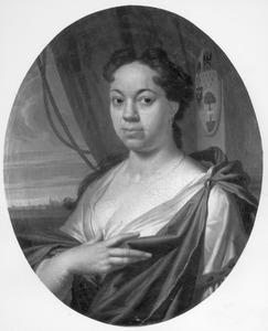 Portret van Maria de Lange (1696-1744)