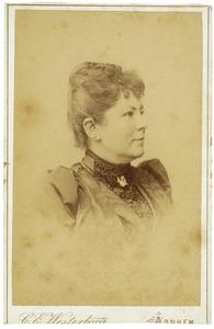 Portret van Elisabeth Jacoba Junius van Hemert (1853-1931)