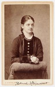 Portret van Jeanne Marie Heynsius (1860-1920)