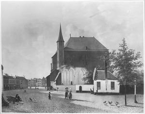 De Mariaplaats te Utrecht vanuit het noorden