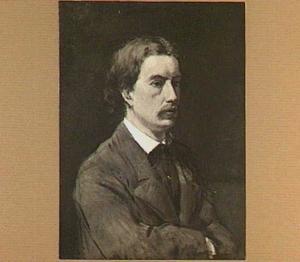 Portret van de schilder Nicolaas Bastert (1854-1939)