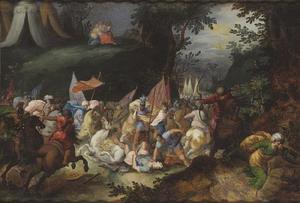 Joshua verslaat Amalek