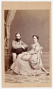 Portret van het echtpaar Piepers