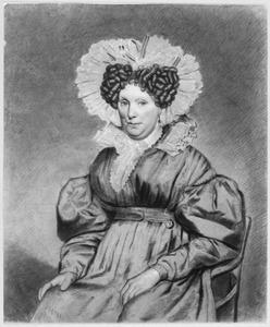 Portret van Eva van Dalsen (1777-1846)