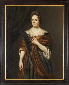 Portret van Catharina de Witt (....-1705)