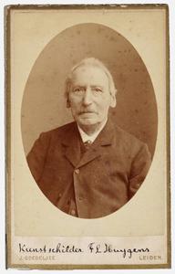 Portret van Frederik Lodewijk Huygens (1802-1887)