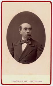 Portret van Franciscus Xaverius Josephus Maria Verheyen (1829-1904)