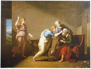 Tobias geneest de blindheid van zijn vader Tobit (Tobit 10-13)