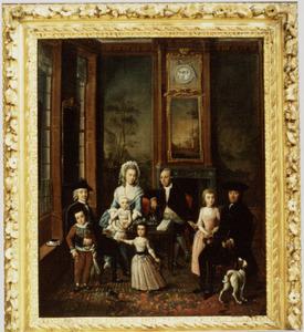 Portret van de familie van Frans Julius Johan van Eysinga (1752-1828)