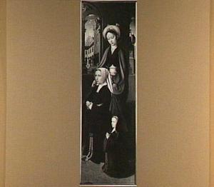 De H. Maria Magdalena met Magdalena Cordier en haar dochter Cornelia